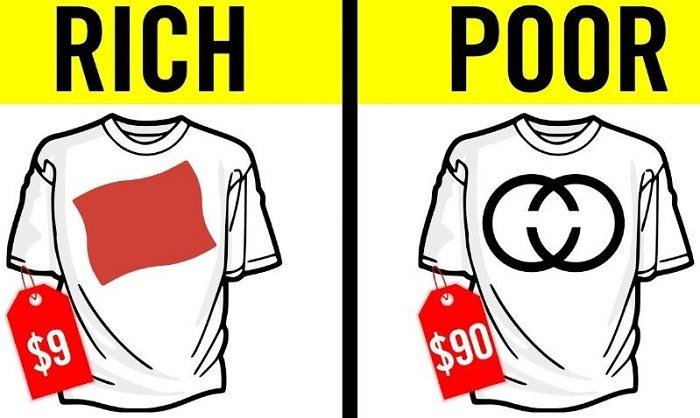 khác biệt giữa người giàu và nghèo