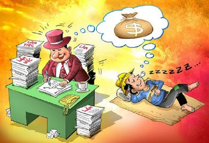 sự khác biệt giữa giàu và nghèo