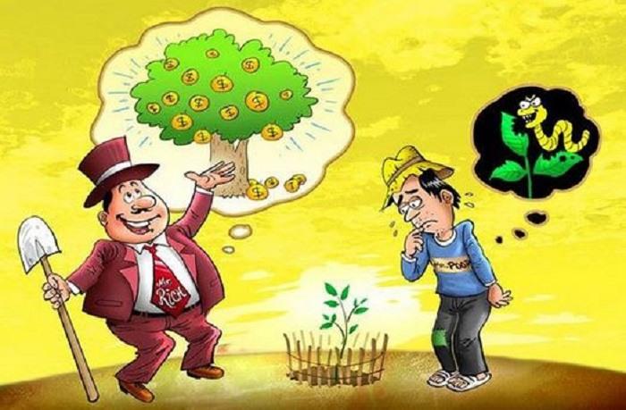 sự khác biệt người giàu người nghèo