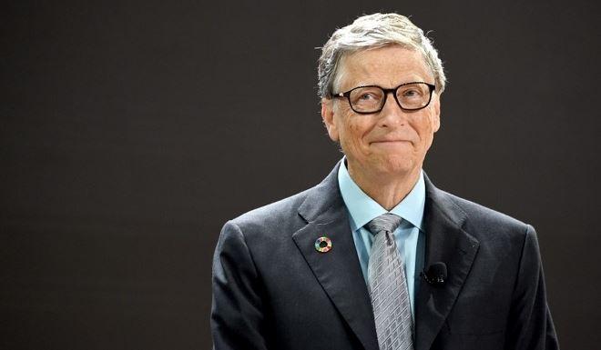 Bill Gates - chủ tịch tập đoàn Microsoft