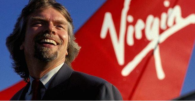 Richard Branson - nhà sáng lập Virgin Group gồm hơn 400 công ty.